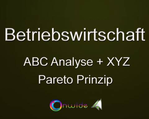 ABC Analyse / Pareto Prinzip