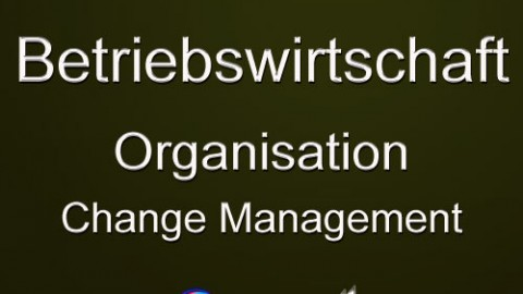 Organisation, Change Management?