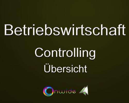 Controlling, Aufgaben und Übersicht - Conwide, Community Kontakt Portal