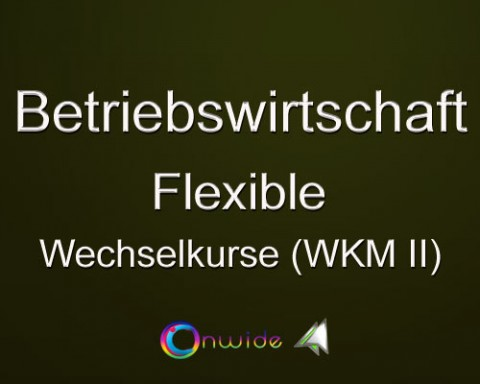 Flexible Wechselkurse – WKM II
