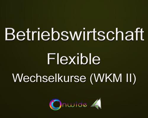 Flexible Wechselkurse WKM II - Conwide, Community Kontakt Portal
