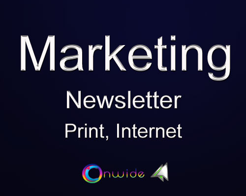 Newsletter, Print, Internet - Conwide, Community-Kontakt-Portal