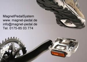 Alternative Klickpedalen Fahrrad - das Magnet Pedal