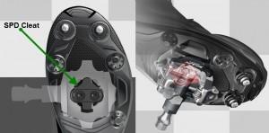 Shimano SPD Pedal Moutainbike (MTB) - Klicksystem SPD SM-SH 51, SPD SM-SH 56