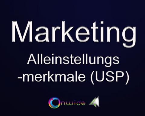 Alleinstellungsmerkmale (USP), Marketing