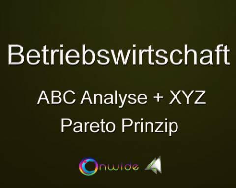 ABC Analyse / Pareto Prinzip