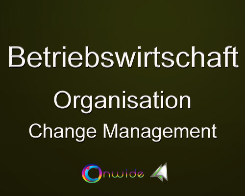 Organisation, Change Management? - Conwide, Community-Kontakt-Portal