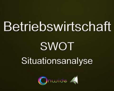 Situationsanalyse SWOT