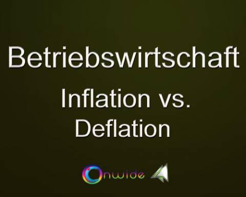 Inflation Deflation, Vergleich