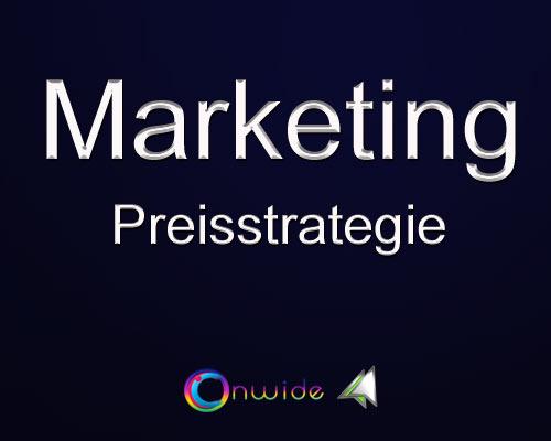 Preisstrategie, Produkt vermarkten? - Conwide, Community-Kontakt-Portal